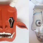 Original metalmade masks